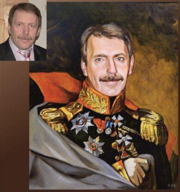 Настоящий портрет маслом на заказ в Харькове…