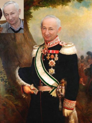Где заказать исторический портрет по фото на холсте в Харькове?