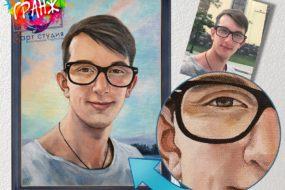 Портретная живопись маслом, купить в Харькове